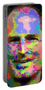 Steve Jobs - Abstract Portable Battery Charger