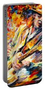 Stevie Ray Vaughan Portable Battery Charger