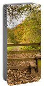 Stile In Plessey Woods Portable Battery Charger