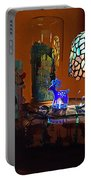 Still Life Christmas Peace Portable Battery Charger