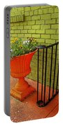 Still Life In Colorful Alley  Portable Battery Charger