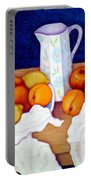 Still Life In Honor Of Cezanne   Portable Battery Charger