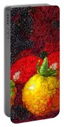 Still Life Tomatoes Fruits And Vegetables Portable Battery Charger
