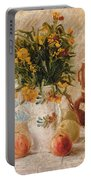 Still Life Portable Battery Charger by Vincent van Gogh