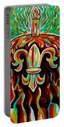 Stl250 Fleur De Lis Cake Payne Gentry House 2 Portable Battery Charger