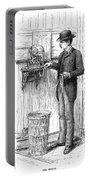 Stock Ticker, 1885 Portable Battery Charger