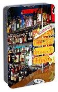 Stocked Bar At Jax Portable Battery Charger by Joan Meyland