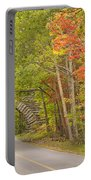 Stone Arch Bridge In Acadia National Park Portable Battery Charger