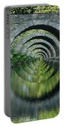 Stone Arch Bridge Over Troubled Waters - 1st Place Winner Faa Optical Illusions 2-26-2012 Portable Battery Charger