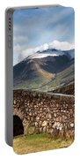 Stone Bridge In Mountain Landscape Portable Battery Charger