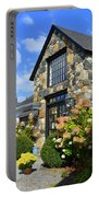Stone Building In Connecticut Portable Battery Charger