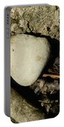 Stone Heart Portable Battery Charger
