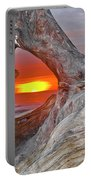 Stone Lagoon Sunset Portable Battery Charger