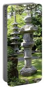 Stone Pagoda And Lantern Portable Battery Charger