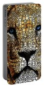 Stone Rock'd Lion 2 - Sharon Cummings Portable Battery Charger