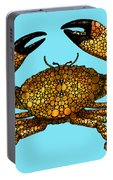 Stone Rock'd Stone Crab By Sharon Cummings Portable Battery Charger