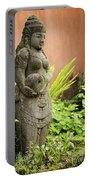 Stone Statue In Bali Indonesia  Portable Battery Charger