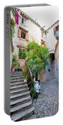 Stone Streets Of Old Trogir Portable Battery Charger