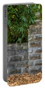 Stone Wall And Gate Portable Battery Charger