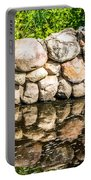 Stone Wall Reflection Portable Battery Charger