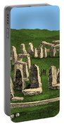 Stonehenge, Prehistoric Monument Portable Battery Charger