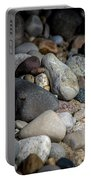 Stones On Beach Portable Battery Charger