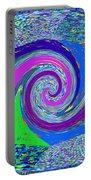 Stool Pie Chart Twirl Tornado Colorful Blue Sparkle Artistic Digital Navinjoshi Artist Created Image Portable Battery Charger