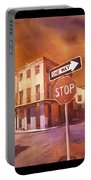 Stop- French Quarter Ahead Portable Battery Charger
