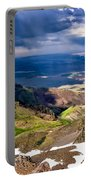 Storm Above The Alvord Desert Portable Battery Charger