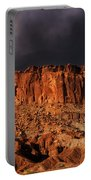 Storm Clouds Capitol Reef National Park Utah Portable Battery Charger