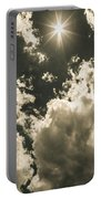 Storm Clouds Gathering Portable Battery Charger