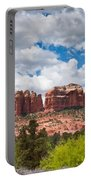 Storm Clouds Over Cathedral Rocks Portable Battery Charger