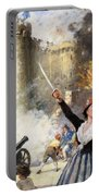 Storming The Bastille Portable Battery Charger