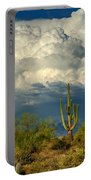 Stormy Desert Skies  Portable Battery Charger