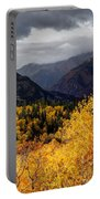 Stormy Fall Along The Alpine Loop - Utah Portable Battery Charger