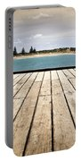 Stormy Jetty Portable Battery Charger