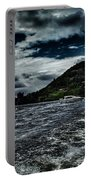 Stormy Loch Ness Portable Battery Charger