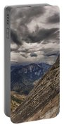 Stormy Skies On Moro Rock Portable Battery Charger