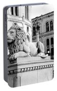 Stortinget Parliament Building Oslo Norway Portable Battery Charger