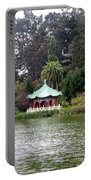 Stow Lake Chinese Pavilion Portable Battery Charger