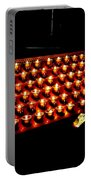 St.patricks Cathedral Candles Portable Battery Charger