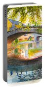 Strasbourg Autumn Evening Portable Battery Charger