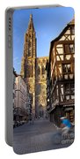 Strasbourg Cathedral Portable Battery Charger