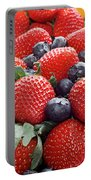 Strawberries Blueberries Mangoes - Fruit - Heart Health Portable Battery Charger