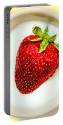 Strawberry And Cream Portable Battery Charger