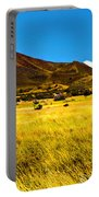 Strawberry Crater  Sunset Wupatki National Monument Portable Battery Charger