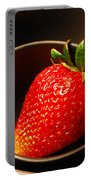 Strawberry In Nested Bowls Portable Battery Charger