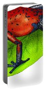 Strawberry Poison-dart Frog Portable Battery Charger