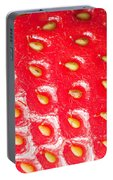 Strawberry Texture Portable Battery Charger