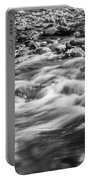 Stream Fall Colors Great Smoky Mountains Painted Bw  Portable Battery Charger